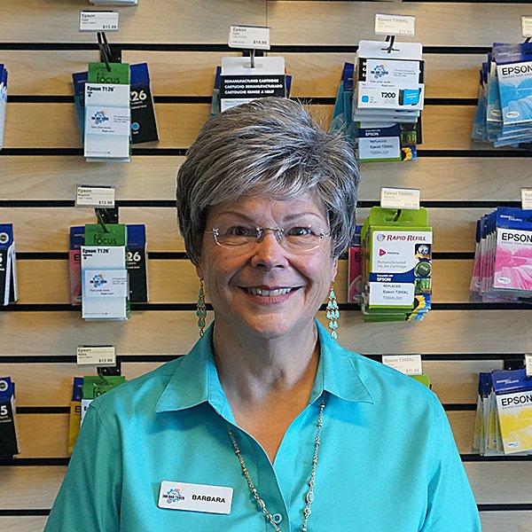 Barbara of Vegas Ink and Toner
