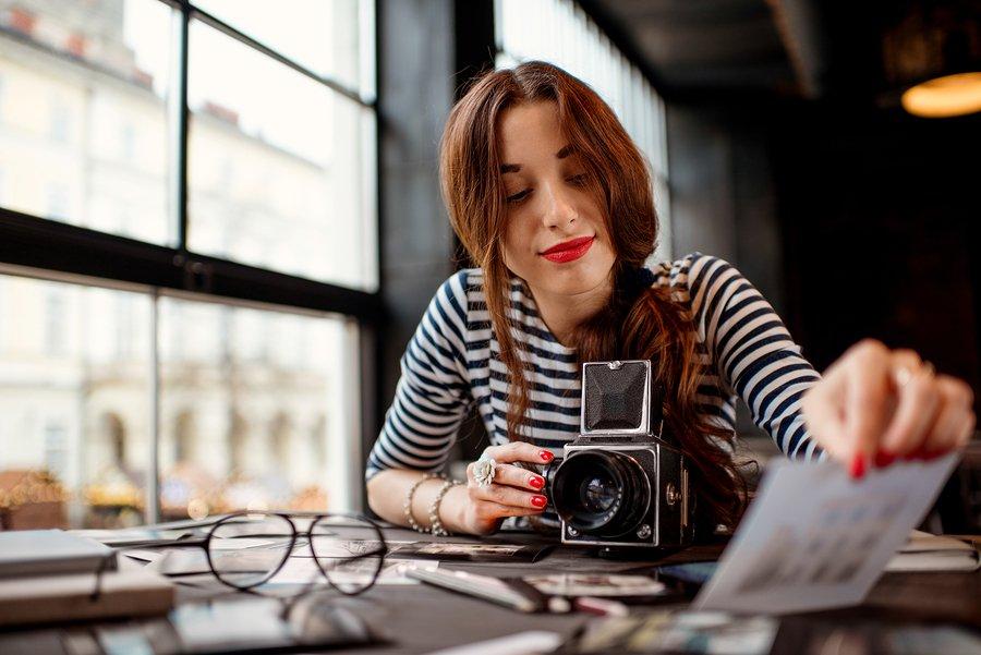 Photographer working-Vegas Ink and Toner