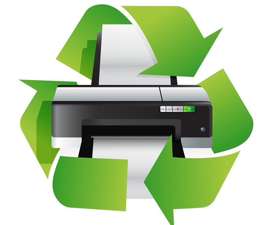 Sustainable printing practices, contact a representative at Vegas Ink and Toner today