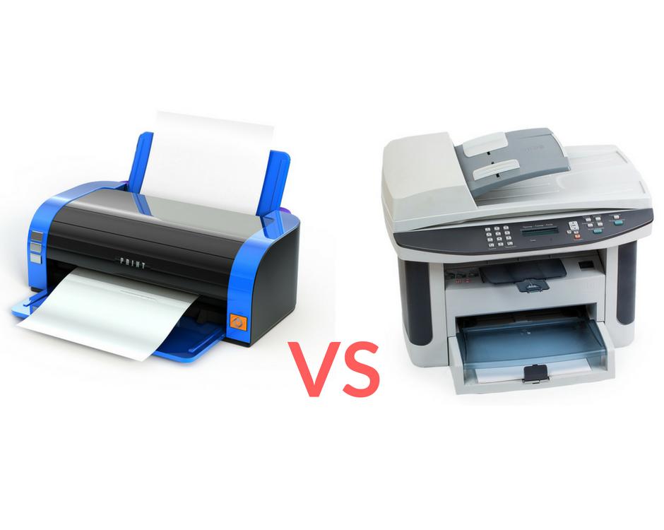 Laser Printers vs. Inkjet Printers
