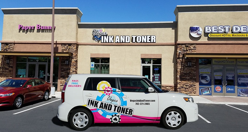 vegas ink and toner storefront