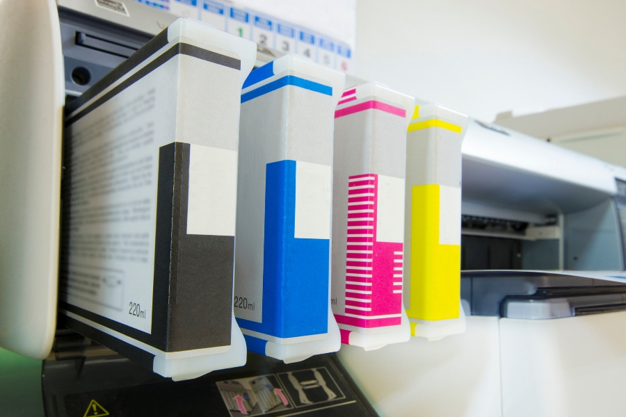 printing technology showing trends ink cartridges in a printer