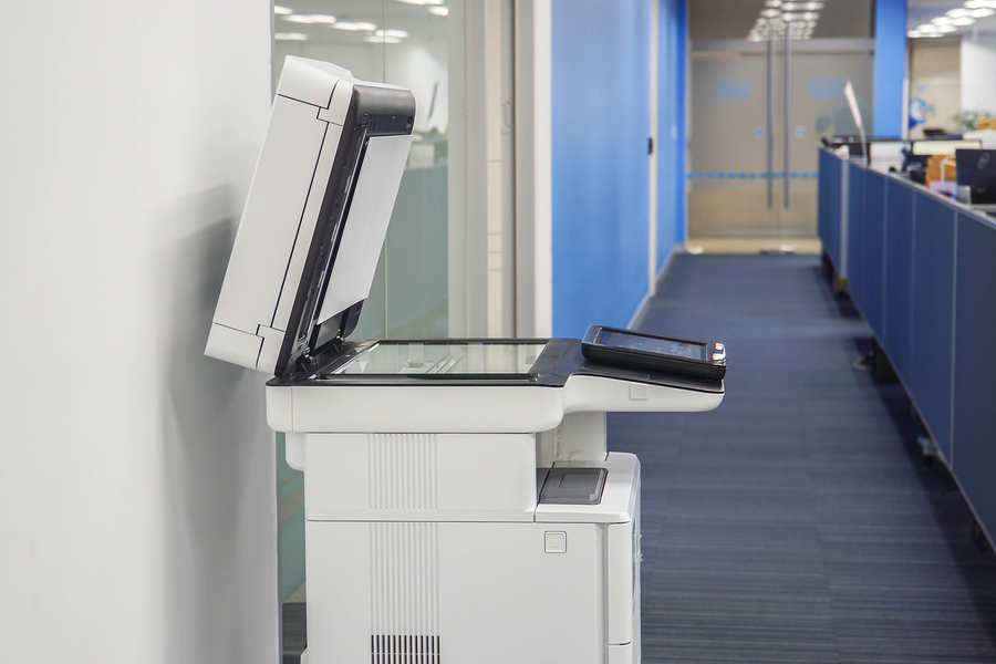 Multifunctional Office Printer Ready To Use In Scanning Printing