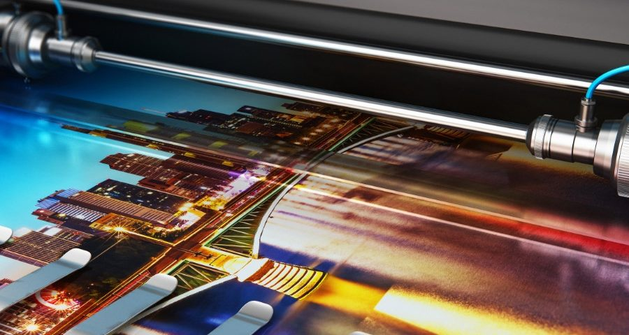 Printing a photo of the city