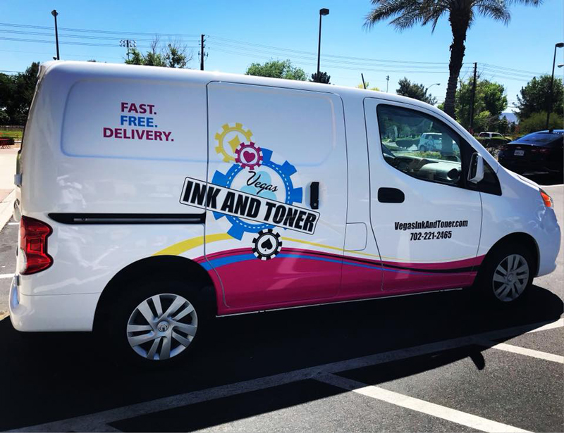 Vegas Ink and Toner Van