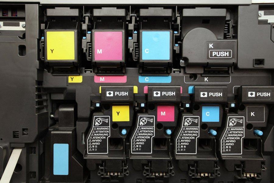 Ink inside a printer