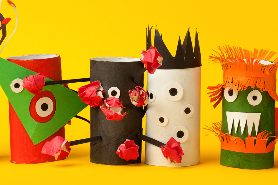 paper made monsters