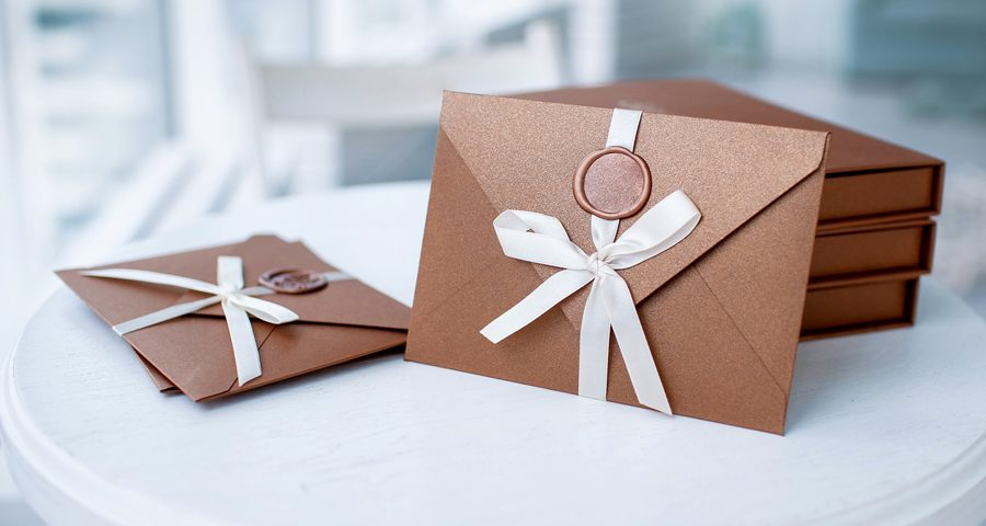 fancy specialized invitations created at home
