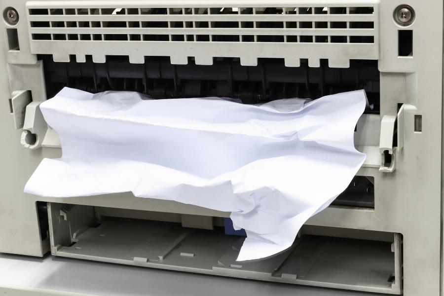 Paper jam image